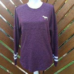 VS PINK Sweatshirt Burgandy Size XS